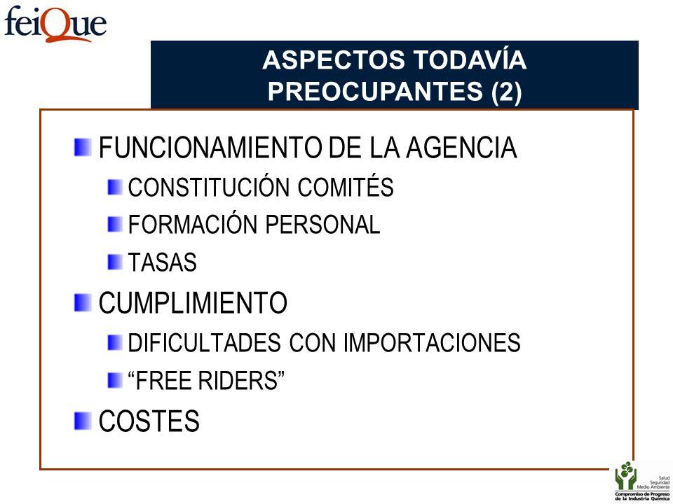 ASPECTOS TODAVÍA PREOCUPANTES (2)