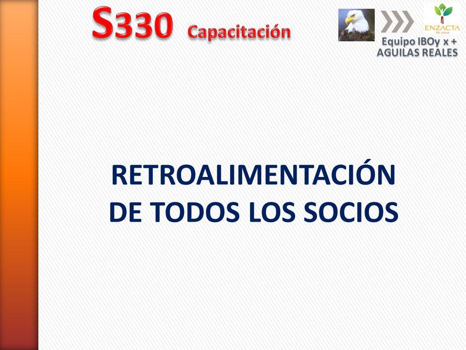 S330 Capacitación RETROALIMENTACIÓN DE TODOS LOS SOCIOS