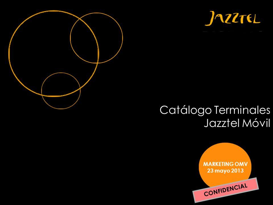 Catálogo Terminales Jazztel Móvil