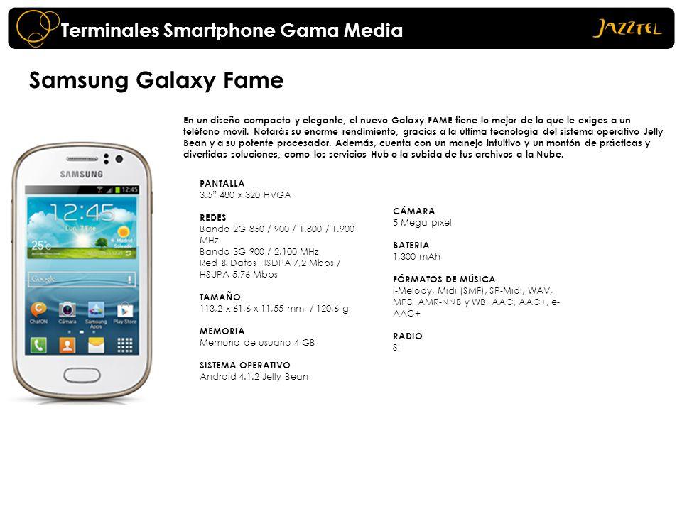 Samsung Galaxy Fame Terminales Smartphone Gama Media