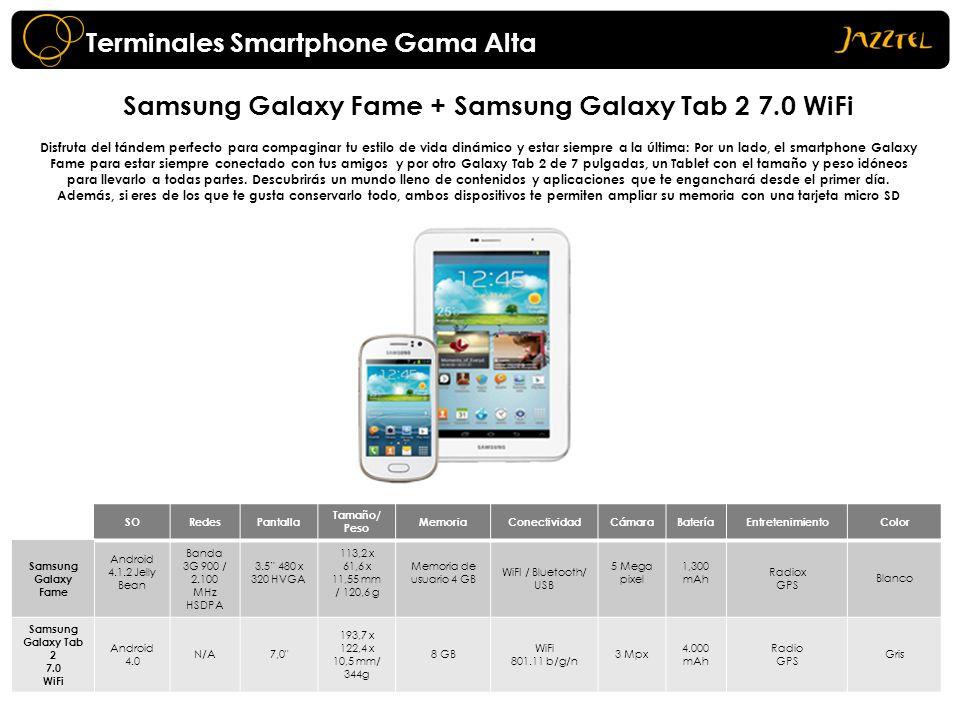 Terminales Smartphone Gama Alta