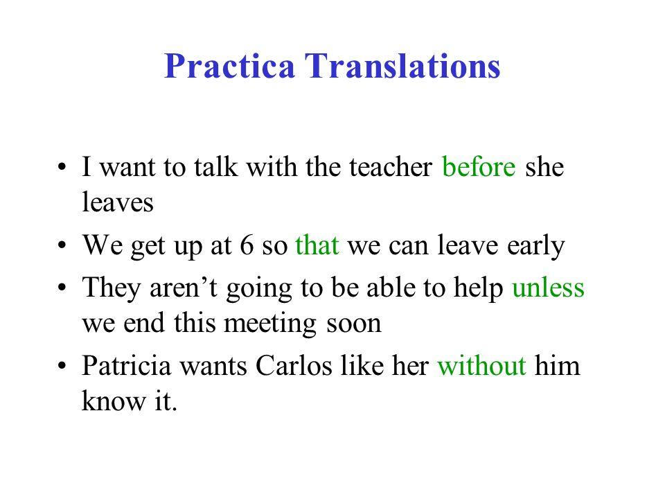 Practica Translations