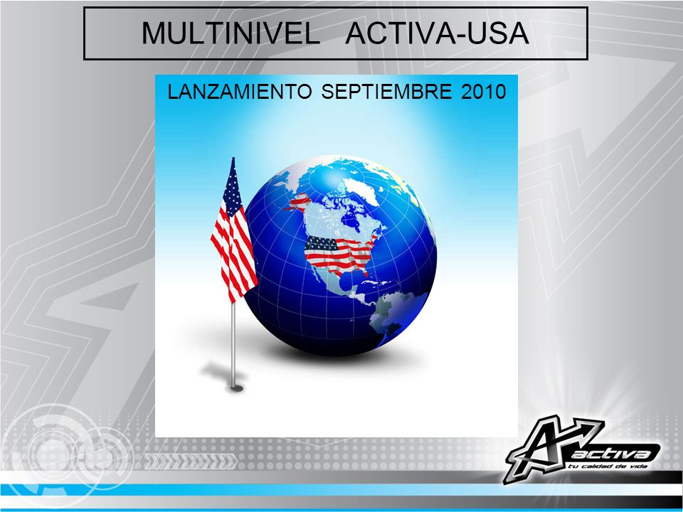 MULTINIVEL ACTIVA-USA