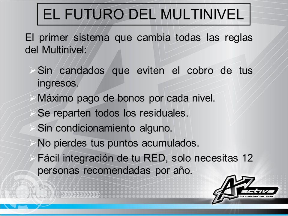 EL FUTURO DEL MULTINIVEL
