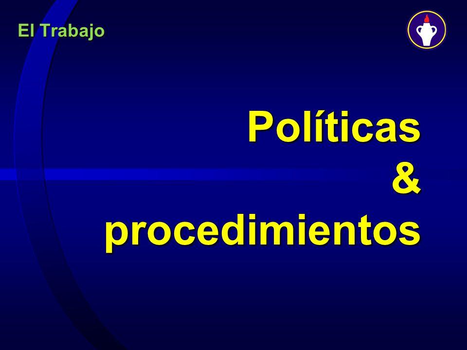 Políticas & procedimientos
