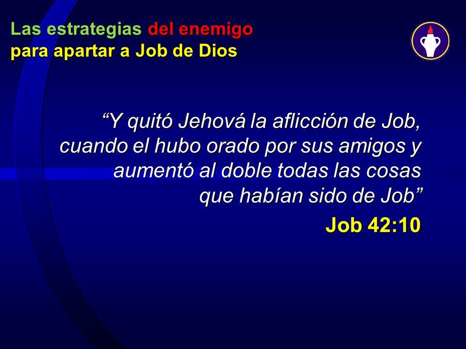Las estrategias del enemigo para apartar a Job de Dios