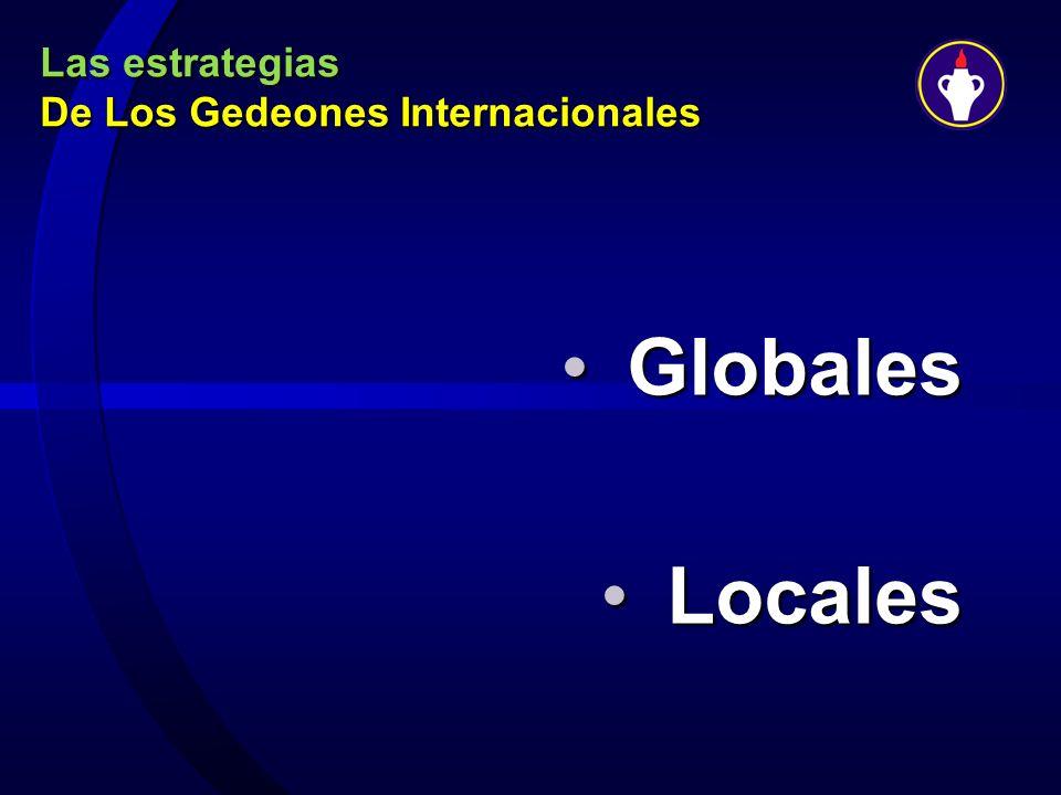 Las estrategias De Los Gedeones Internacionales