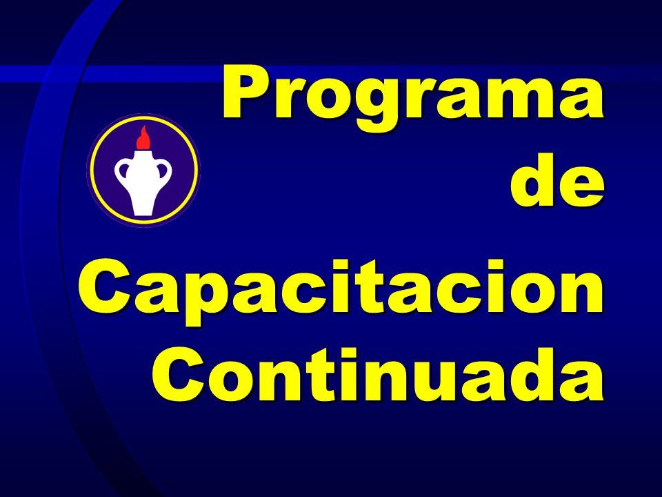 Programa de CapacitacionContinuada