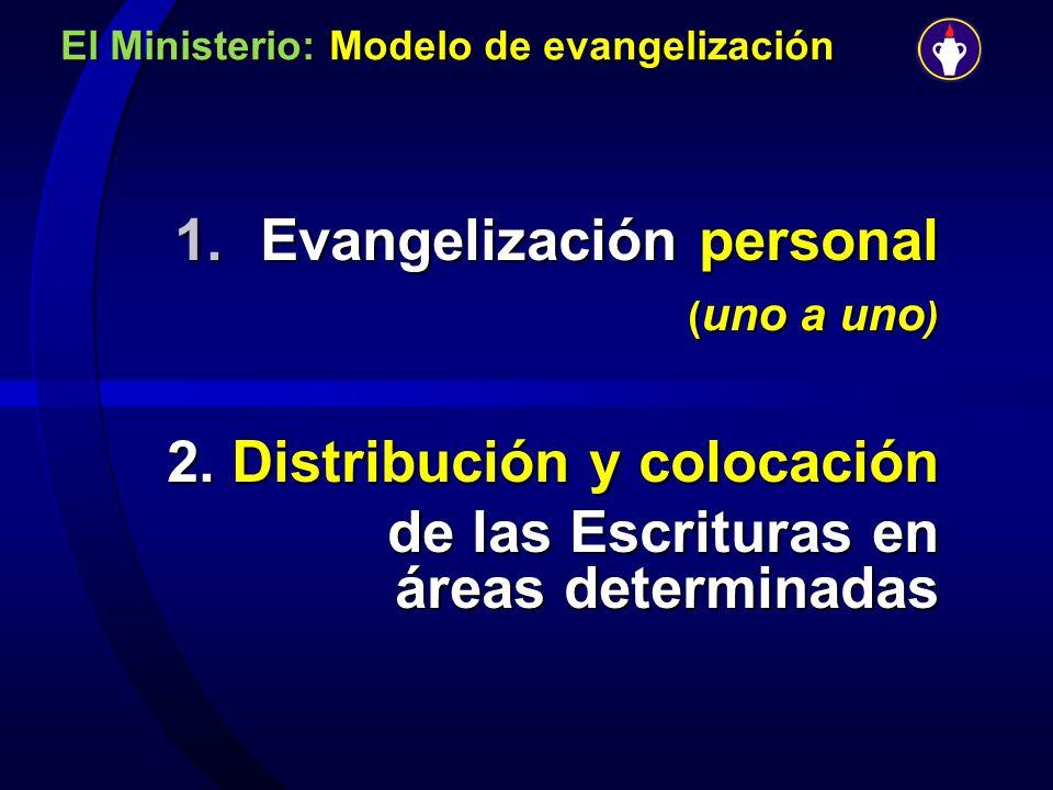El Ministerio: Modelo de evangelización