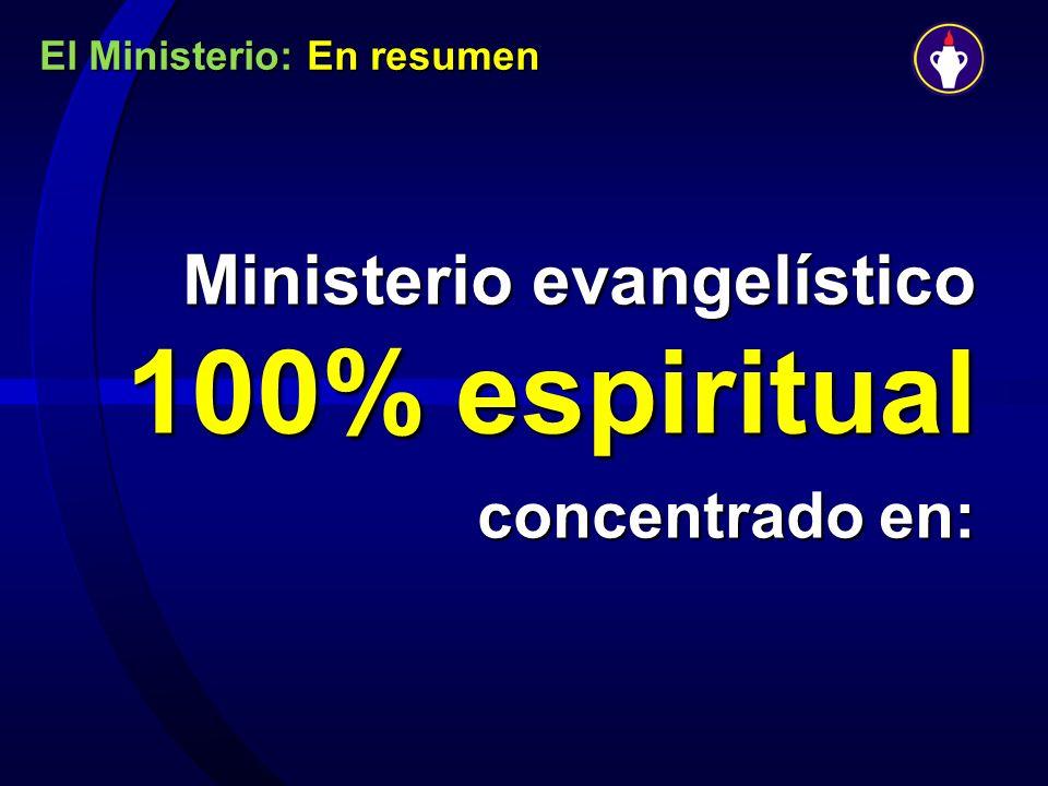 El Ministerio: En resumen