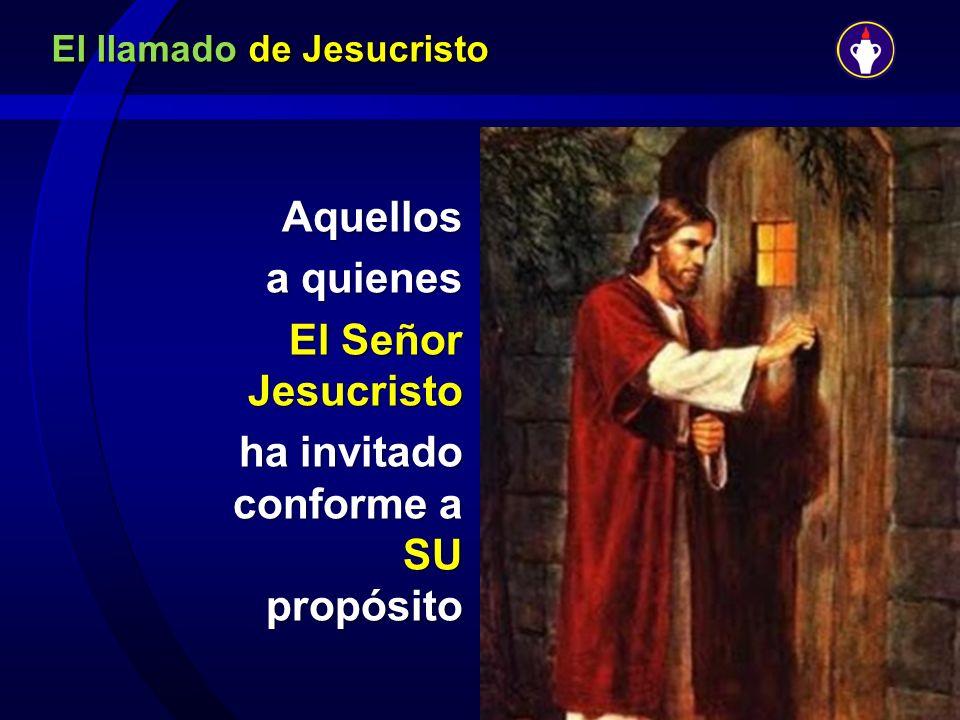 El llamado de Jesucristo