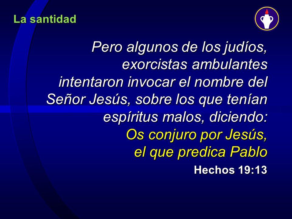 La santidad