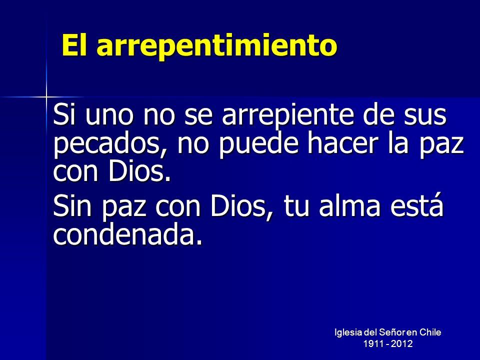 Iglesia del Señor en Chile