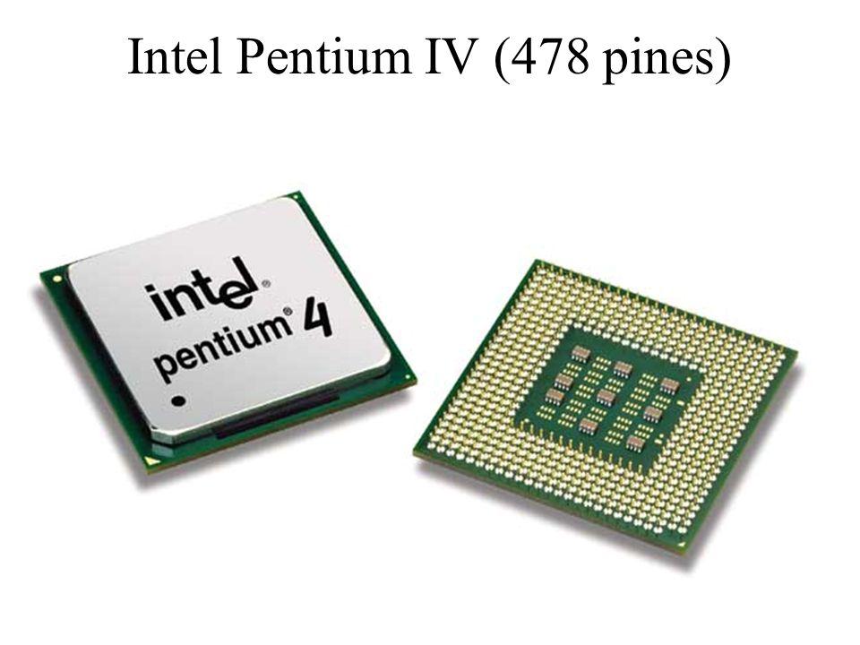 Intel Pentium IV (478 pines)
