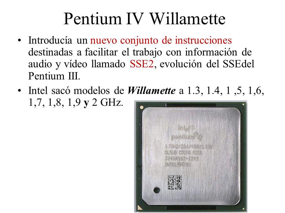 Pentium IV Willamette