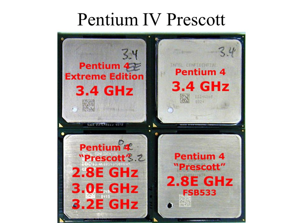 Pentium IV Prescott