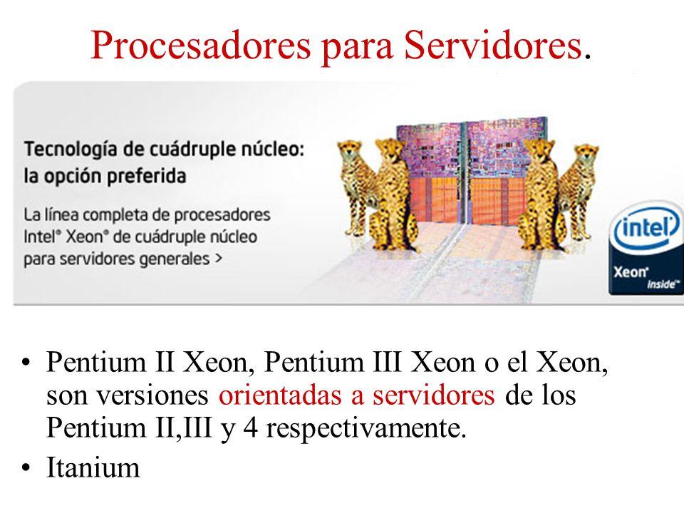 Procesadores para Servidores.