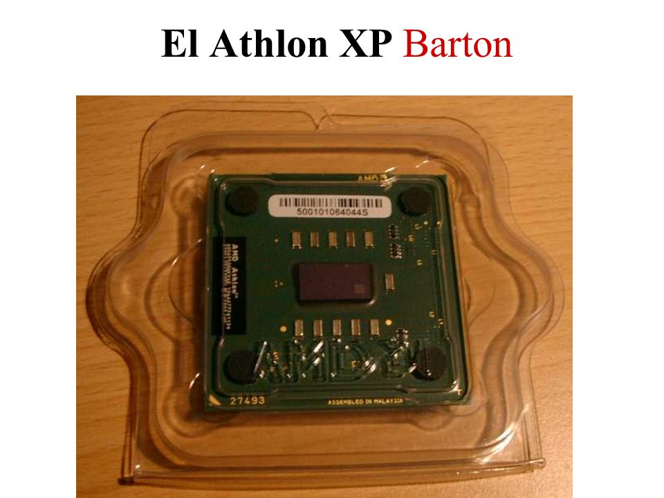El Athlon XP Barton