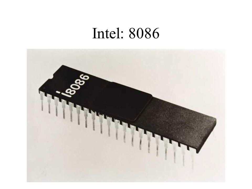 Intel: 8086