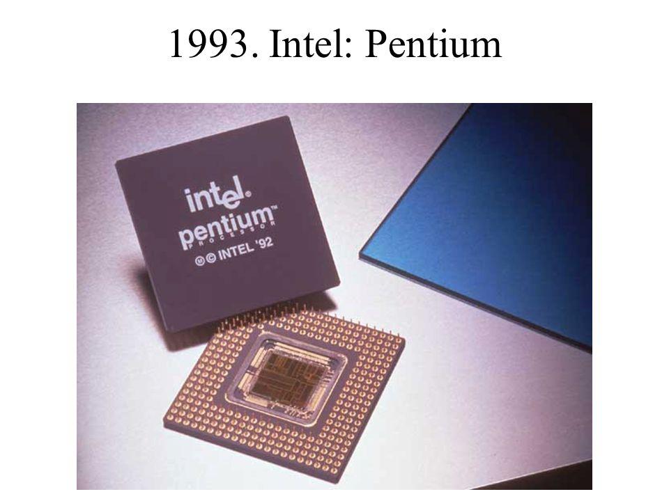 1993. Intel: Pentium