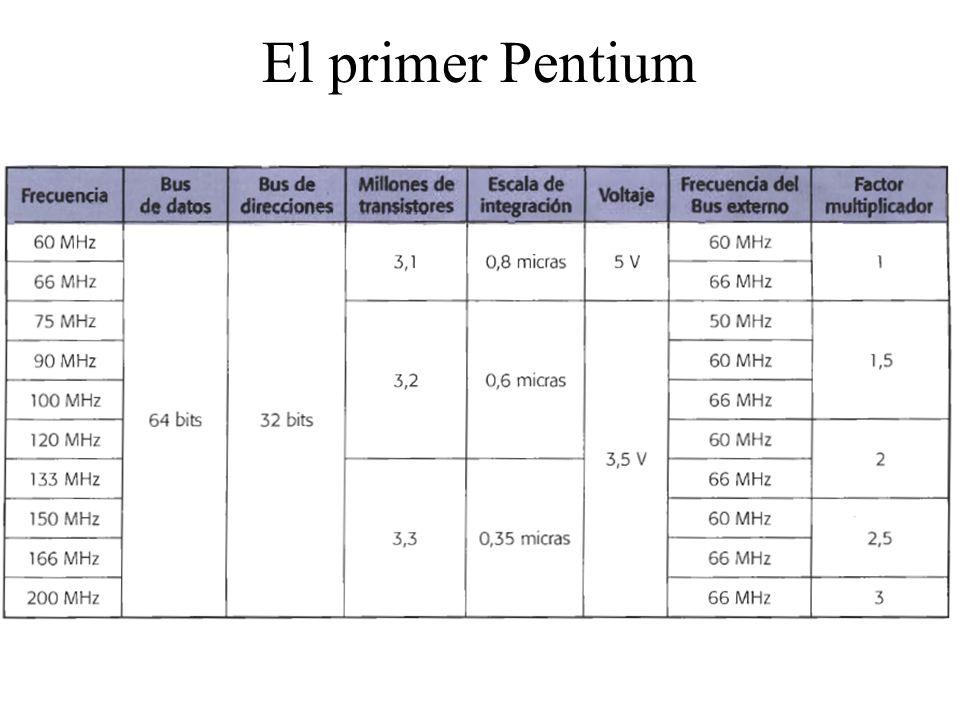 El primer Pentium