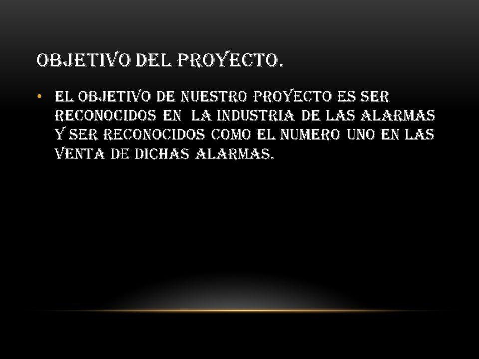Objetivo del proyecto.