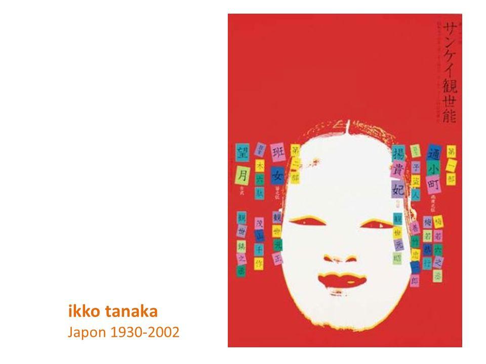 ikko tanaka Japon 1930-2002