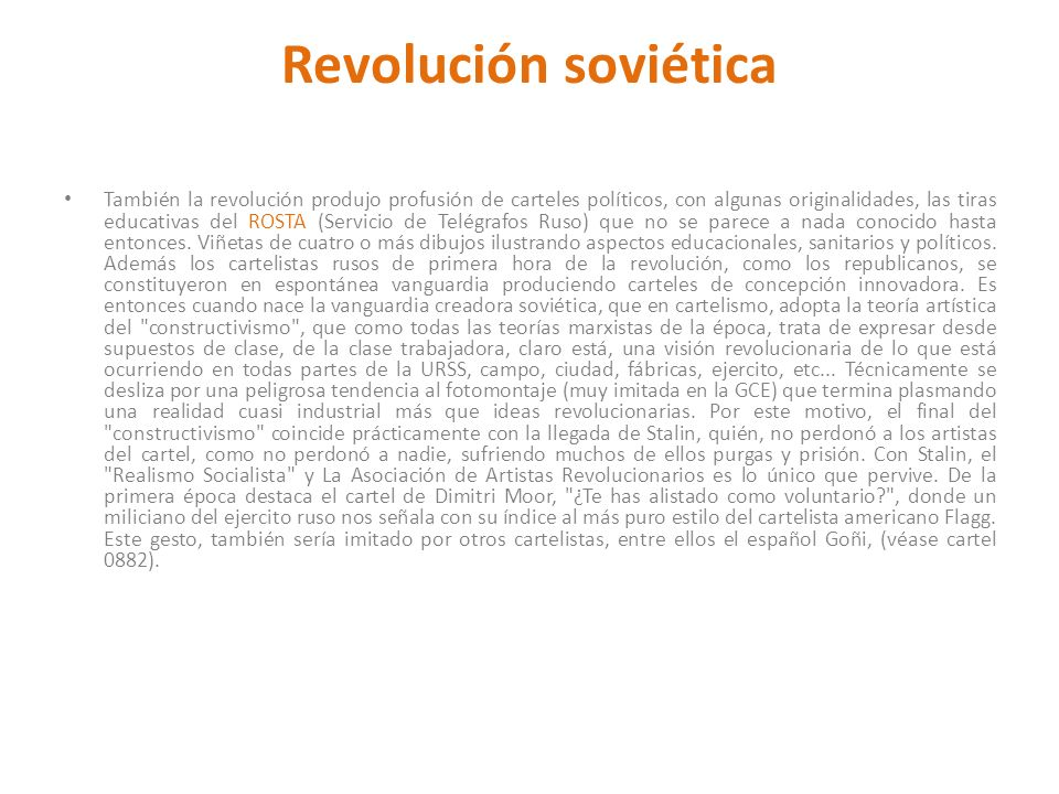 Revolución soviética