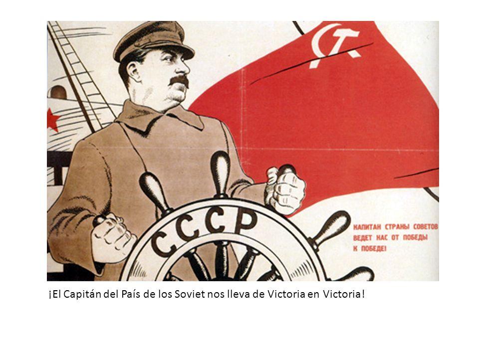 ¡El Capitán del País de los Soviet nos lleva de Victoria en Victoria!
