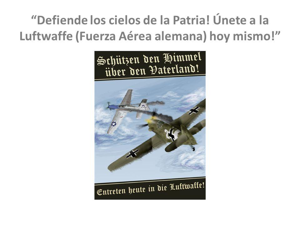 Defiende los cielos de la Patria