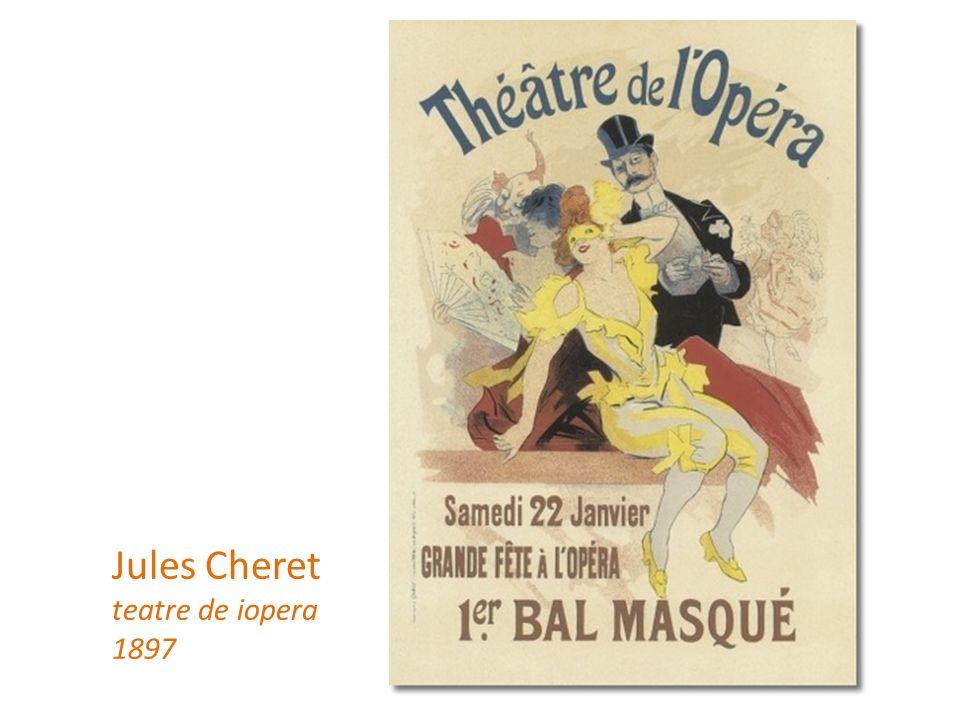 Jules Cheret teatre de iopera 1897