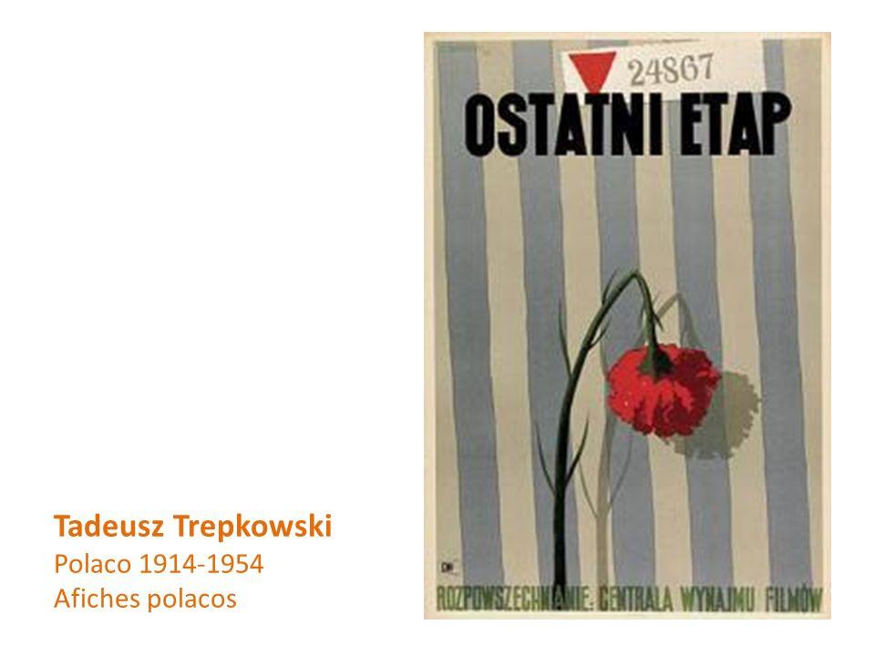 Tadeusz Trepkowski Polaco 1914-1954 Afiches polacos
