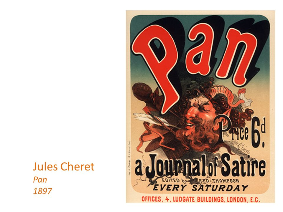 Jules Cheret Pan 1897