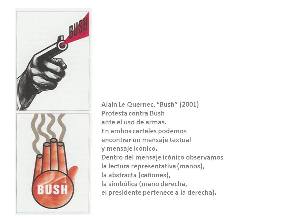 Alain Le Quernec, Bush (2001)