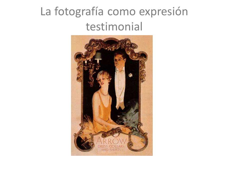 La fotografía como expresión testimonial