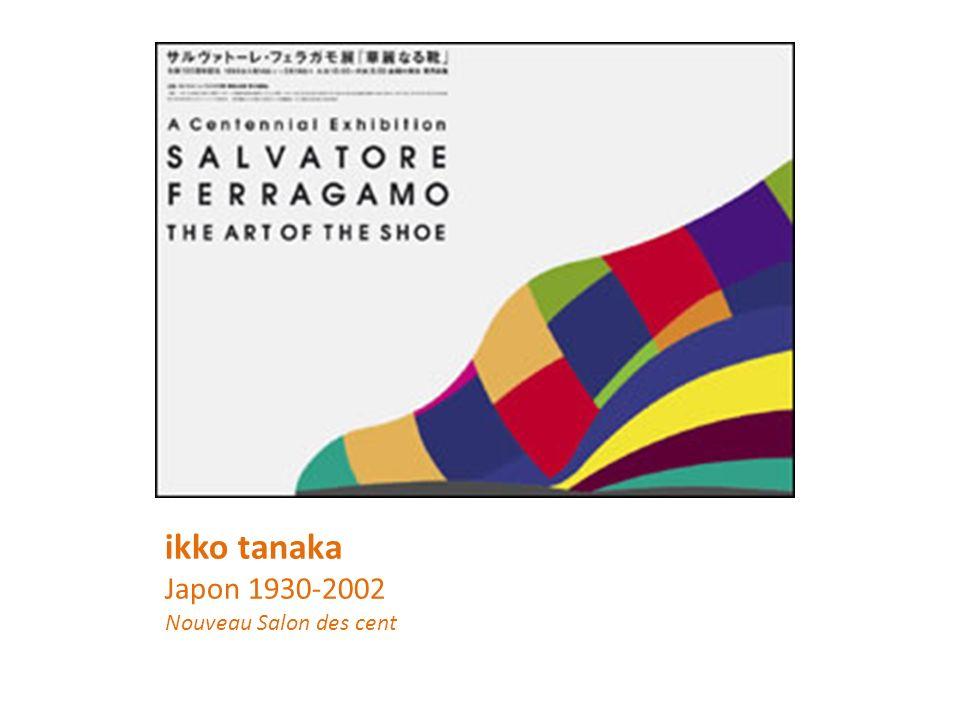 ikko tanaka Japon 1930-2002 Nouveau Salon des cent