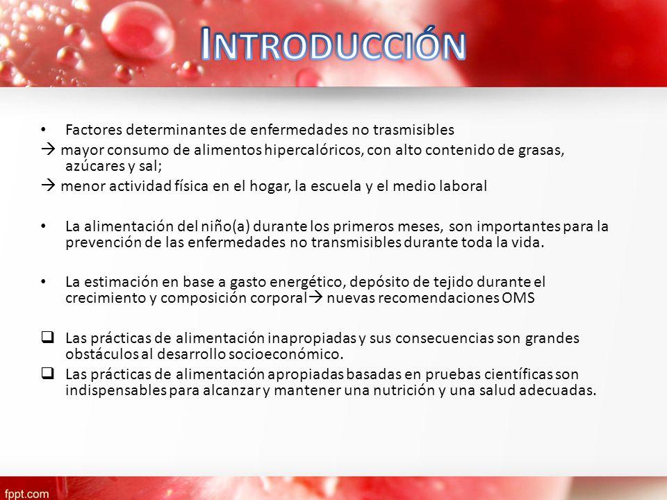 Introducción Factores determinantes de enfermedades no trasmisibles