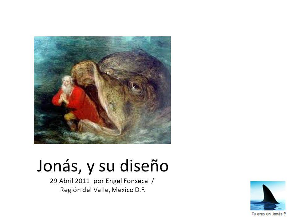 Jonás, y su diseño 29 Abril 2011 por Engel Fonseca /
