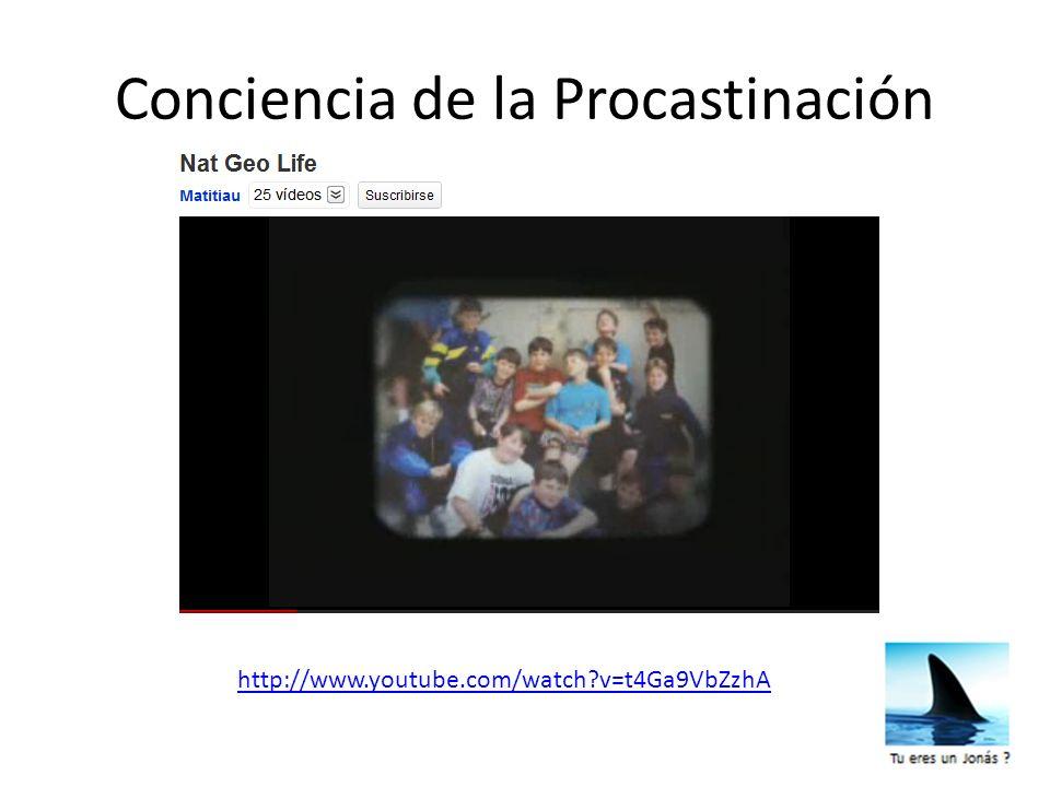 Conciencia de la Procastinación