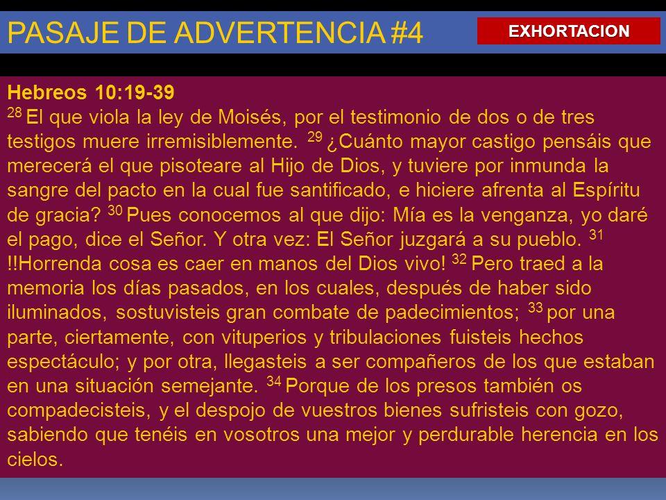 PASAJE DE ADVERTENCIA #4