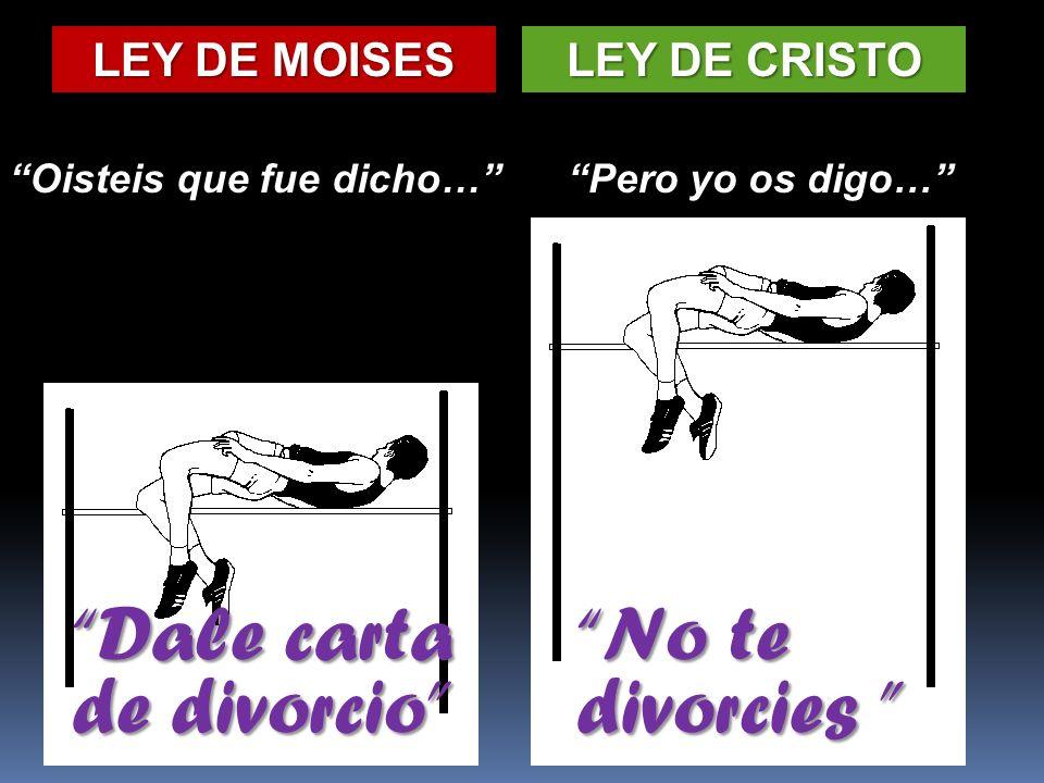 Dale carta de divorcio No te divorcies