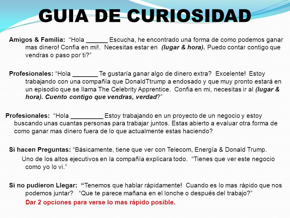 GUIA DE CURIOSIDAD