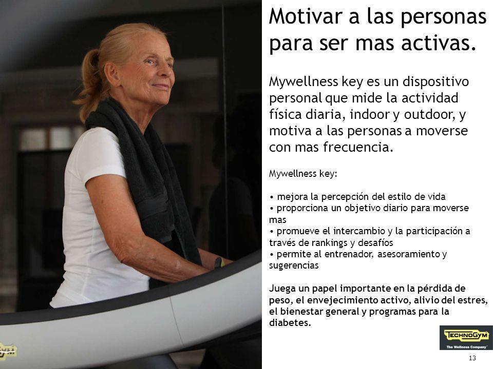 Motivar a las personas para ser mas activas.