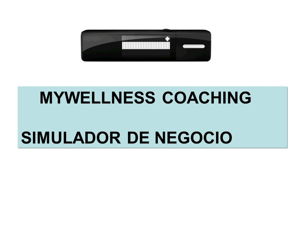MYWELLNESS COACHING SIMULADOR DE NEGOCIO