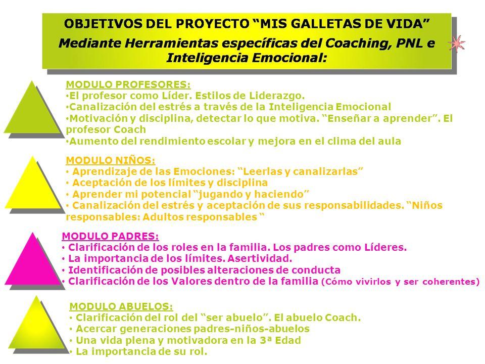 MODULO PROFESORES: El profesor como Líder. Estilos de Liderazgo. Canalización del estrés a través de la Inteligencia Emocional.
