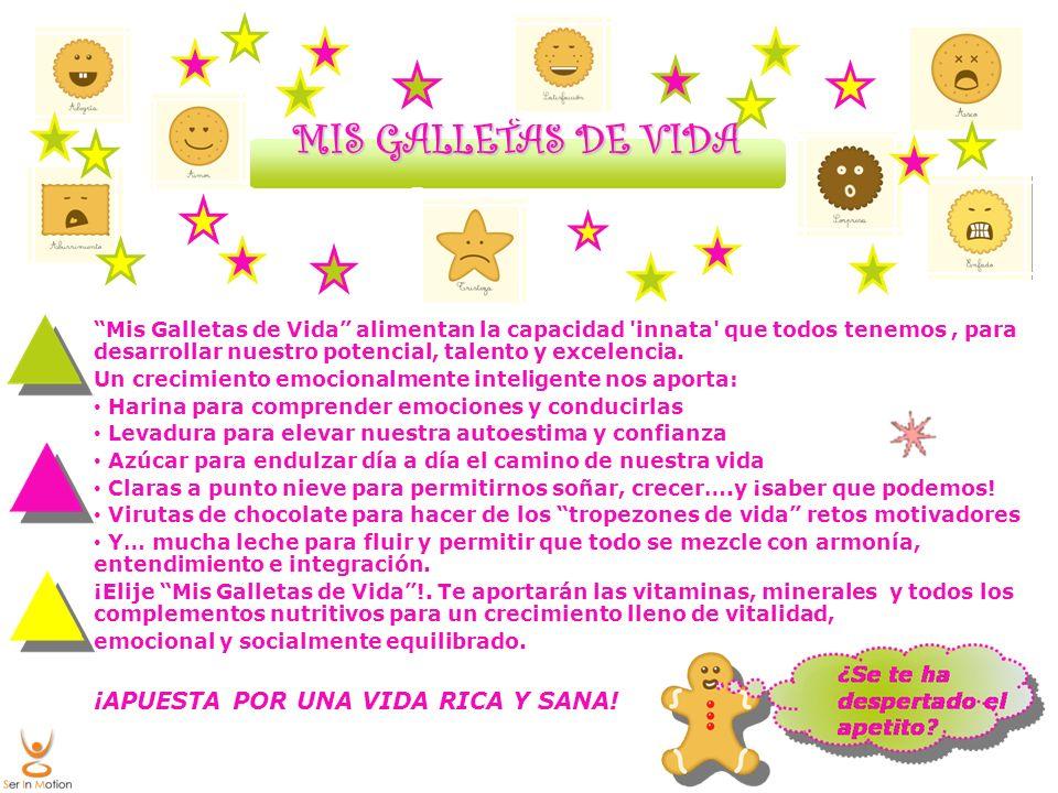 MIS GALLETAS DE VIDA ¡APUESTA POR UNA VIDA RICA Y SANA!