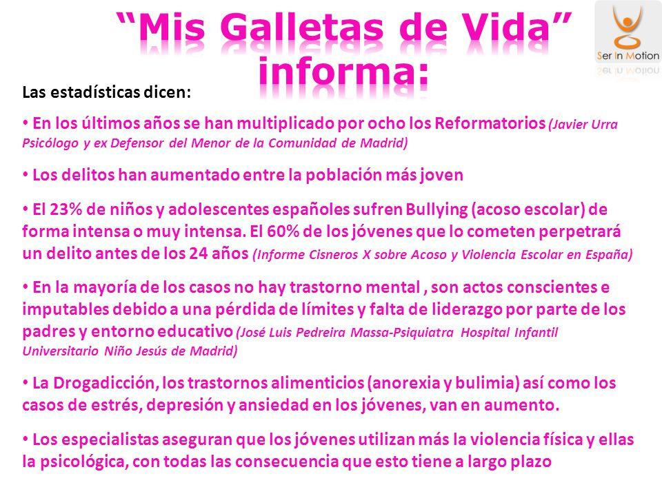Mis Galletas de Vida informa: