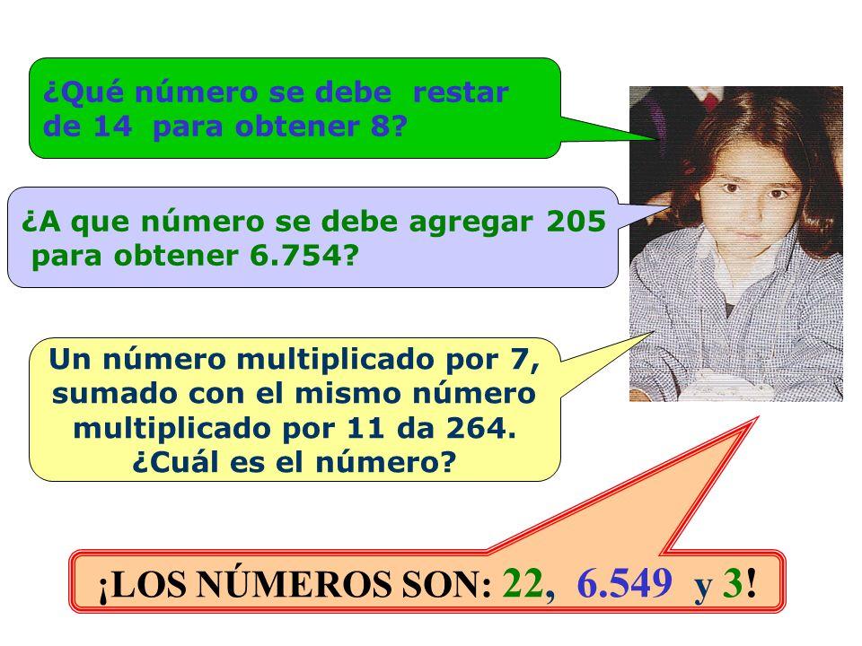 Un número multiplicado por 7, sumado con el mismo número
