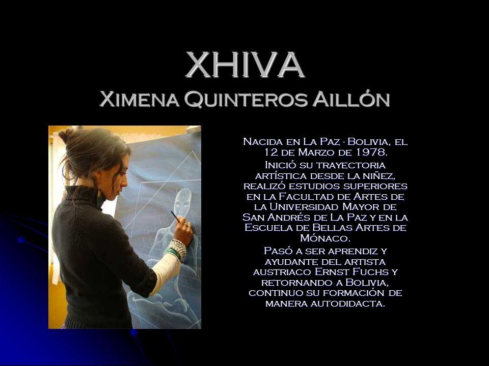 XHIVA Ximena Quinteros Aillón