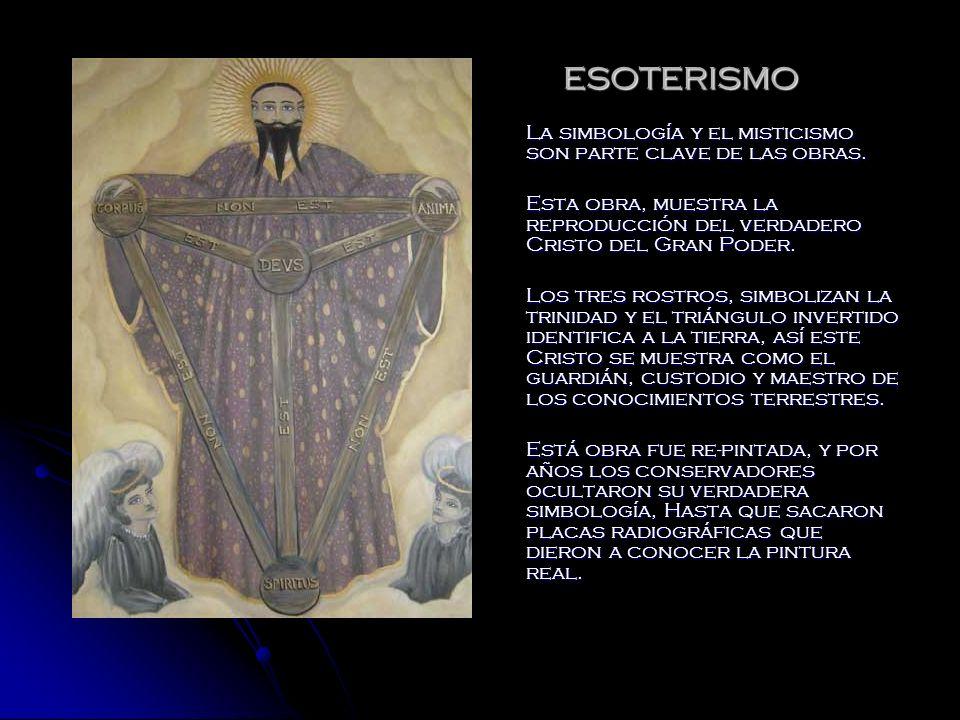 ESOTERISMO La simbología y el misticismo son parte clave de las obras.